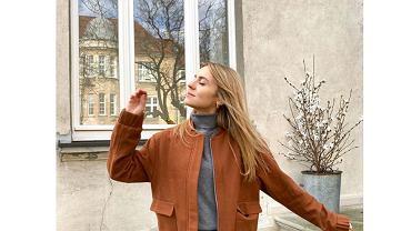Kasia Tusk w modnej stylizacji na wiosnę