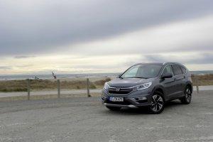 Honda CR-V FL 1.6 i-DTEC | Pierwsza jazda | Wewnętrzne zmiany
