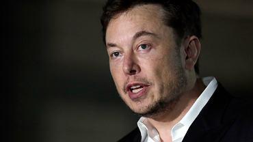 Elon Musk, założyciel i szef Tesli