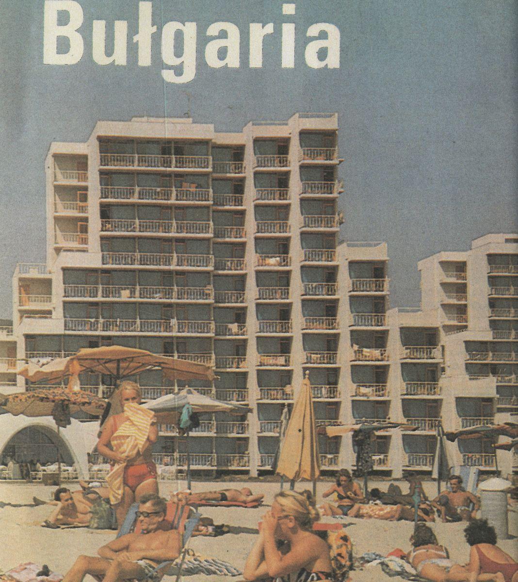 Reklama wczasów w Bułgarii (mat. prasowe)