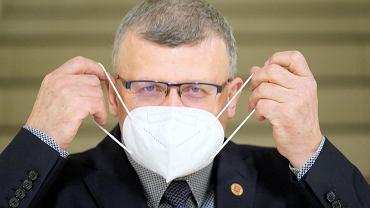Dr Paweł Grzesiowski, prezes Fundacji Instytutu Profilaktyki Zakażeń w Warszawie