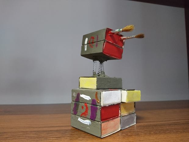 Mieszacz farb. Praca nadesłana na konkurs 'Mój innowacyjny wynalazek'