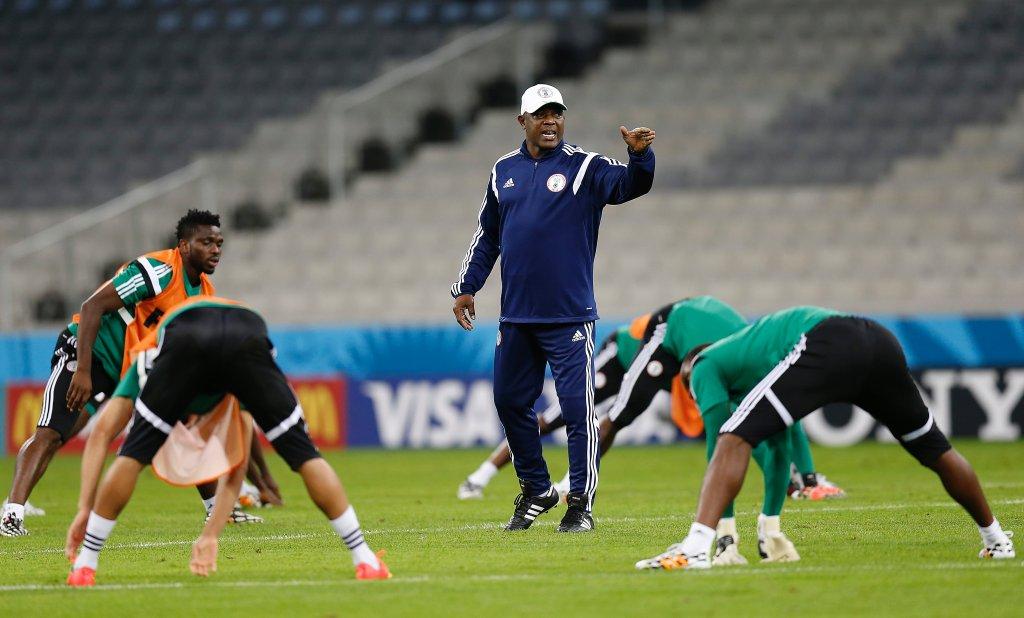 Trening reprezentacji Nigerii
