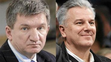Wicemarszałkowie Sejmu Jerzy Wenderlich (SLD) i Cezary Grabarczyk (PO)