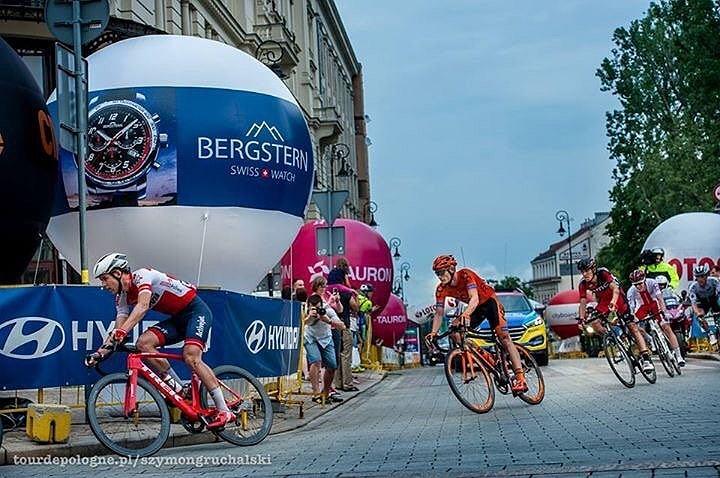 Bergstern parnerem Tour de Pologne