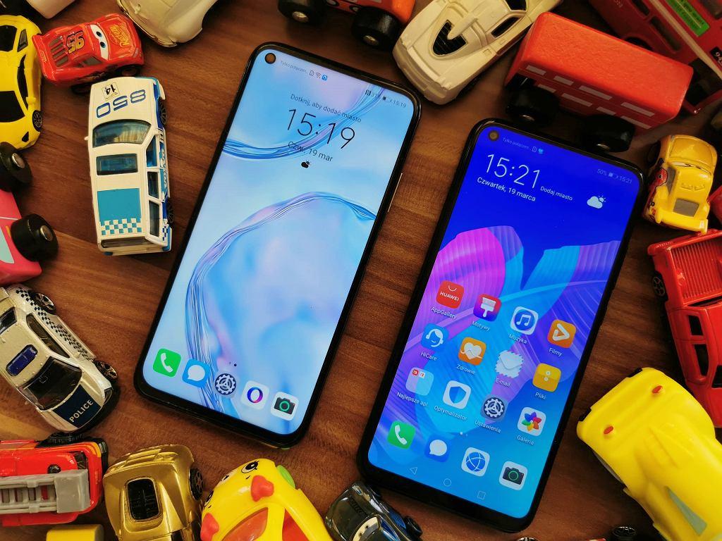 Huawei P40 Lite i Huawei P40 Lite E