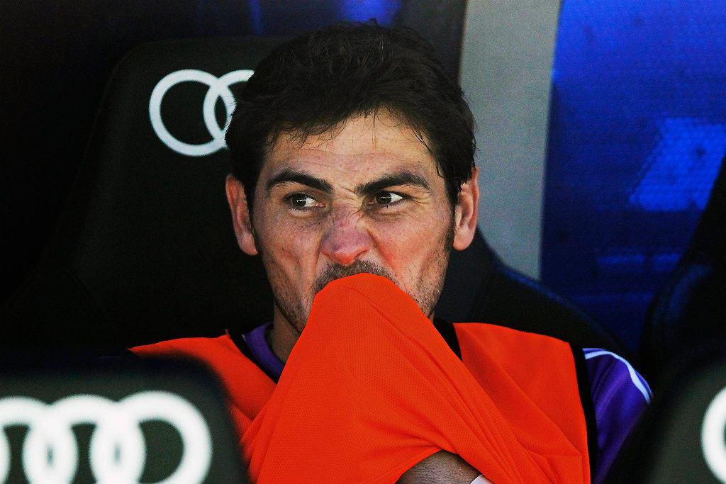 Iker Casillas na ławce w meczu z Betisem