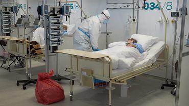 Szpital tymczasowy na MTP