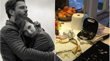 Oglądając uważnie profil na Instagramie Karoliny Malinowskiej można zobaczyć, jak modelka urządziła się razem z Olivierem Janiakiem. Bodaj najsłynniejsze zdjęcie ich mieszkania to to, na którym widzimy ubrudzoną kuchnię. Na profilu modelki znalazło się jednak o wiele więcej zdjęć.
