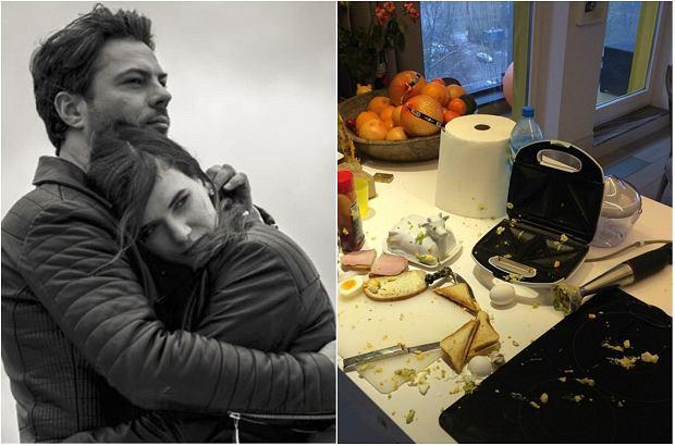 Zdjęcie numer 0 w galerii - Olivier Janiak i Karolina Malinowska chwalą się mieszkaniem. Pamiętacie ich brudną kuchnię? Nie tylko to jest ciekawe