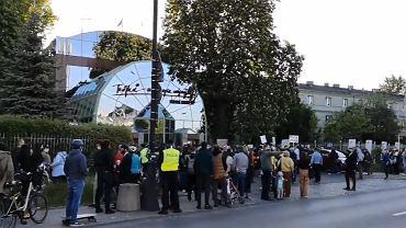 Protest pod Trójką