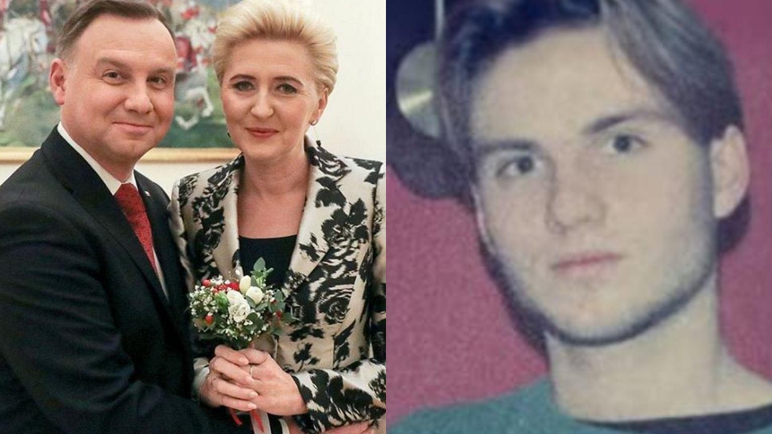 Agata Duda na zdjęciach z młodości. Pozuje z mężem ...