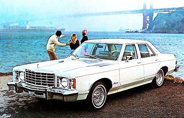 Amerykańska wersja Forda Granada produkowana była od 1975 do 1982 roku
