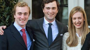 Książę Joachim z rodziną