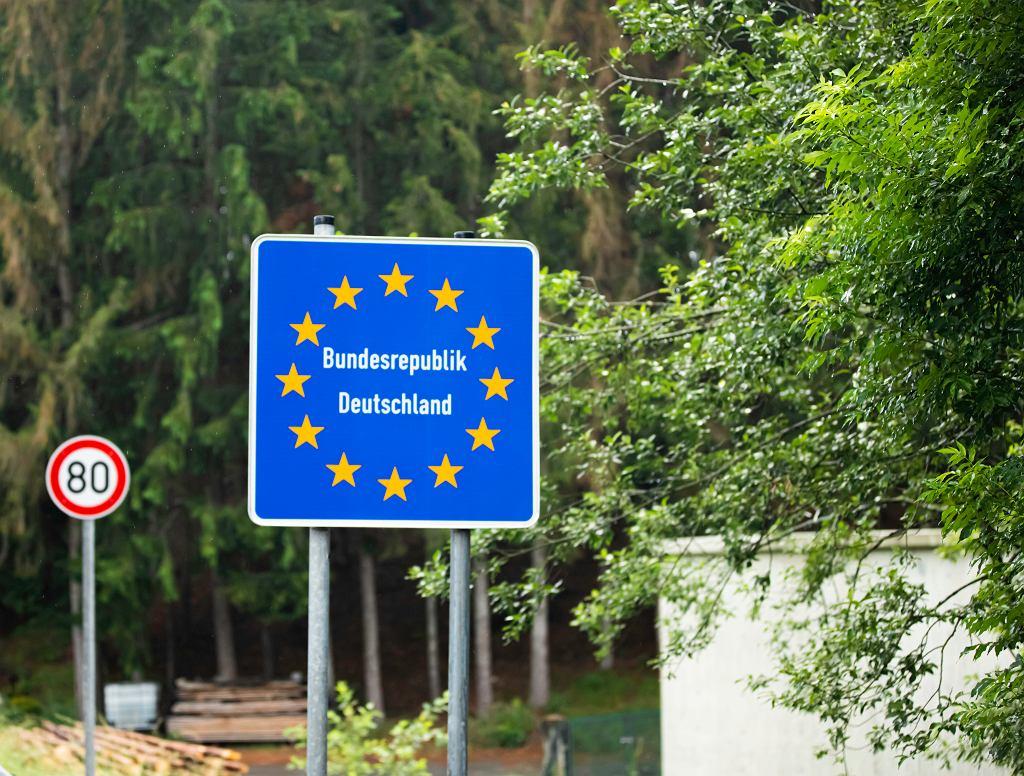 Granica między Austrią a Niemcami
