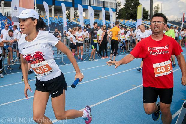 Zdjęcie numer 18 w galerii - PKO Bieg Charytatywny. Na Zawiszy pomagali biegając [ZDJĘCIA]