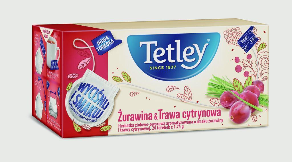 Odkryj nową jakość smaku herbat owocowych Tetley