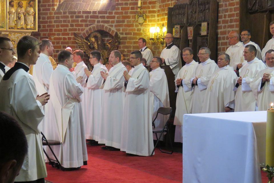 Święcenia prezbiterów w katedrze gorzowskiej 2017 r.
