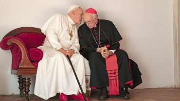 kadr z serialu 'Dwóch papieży'