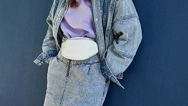 Jeansowa spódnica