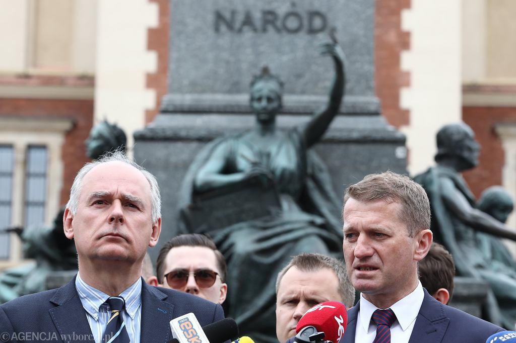 Raś i Zalewski złożyli odwołanie do sądu koleżeńskiego Platformy Obywatelskiej