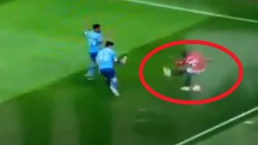 Wpadka piłkarza Manchesteru United