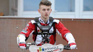Damian Stalkowski, jeszcze jako zawodnik Polonii