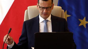 Premier Mateusz Morawiecki na Radzie Ministrów