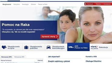 """Axa reklamuje """"Ubezpieczenie na raka"""""""