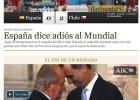 """Hiszpania - Chile. Reakcja mediów: Cień Hiszpanii mówi """"do widzenia"""""""