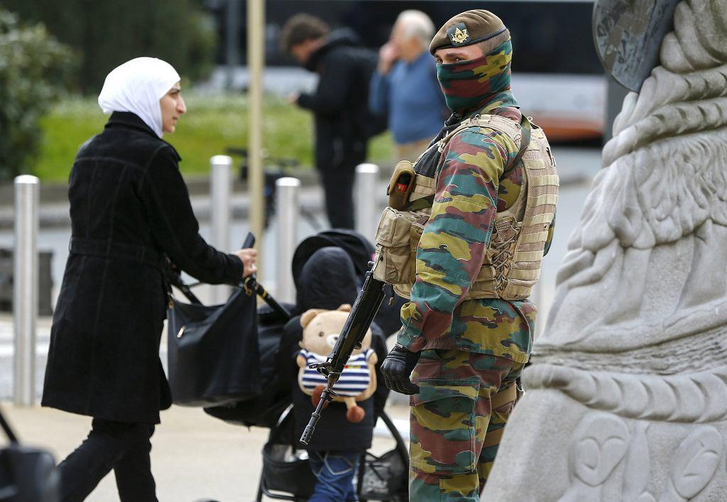 Na ulicach Belgii wzmocniono patrole