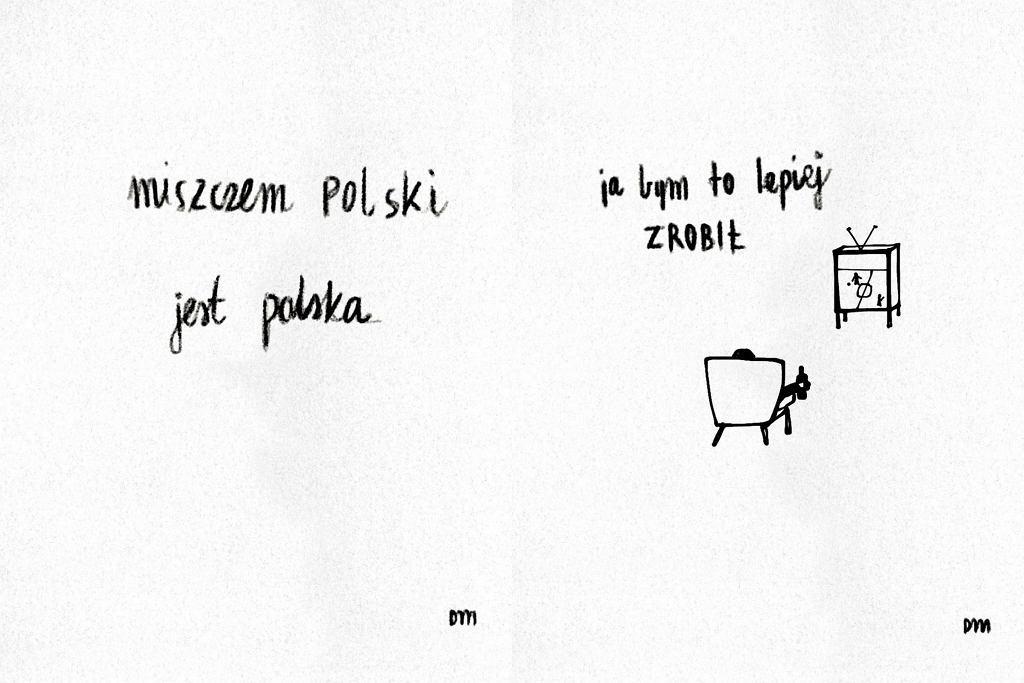Matylda Damięcka podsumowała mecz Polska-Słowacja. Rysowniczka stworzyła zabawną grafikę