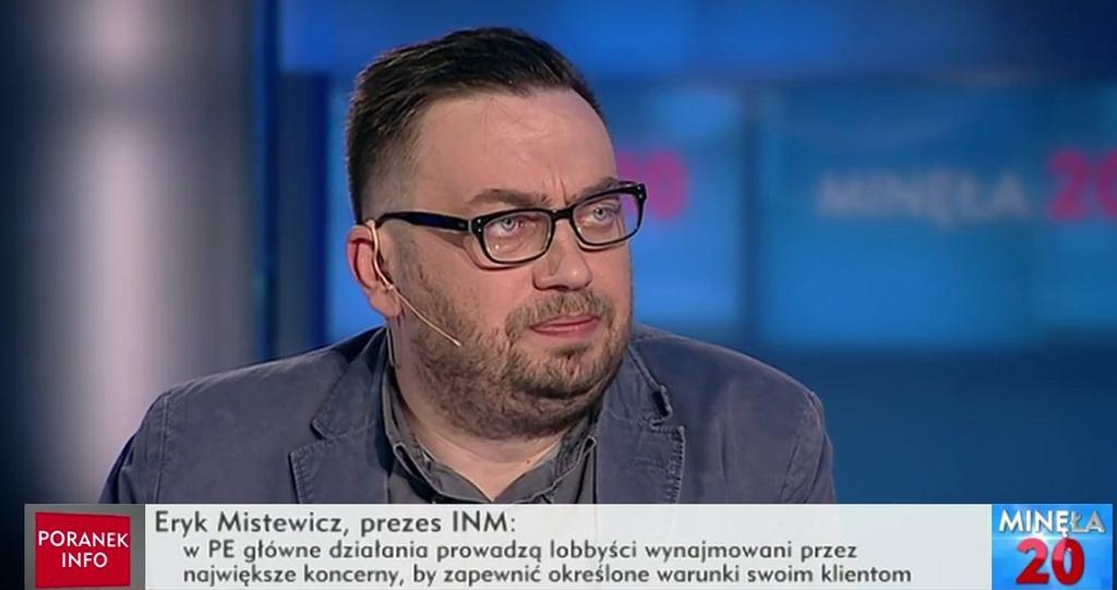 Rafał Otoka-Frąckiewicz w programie