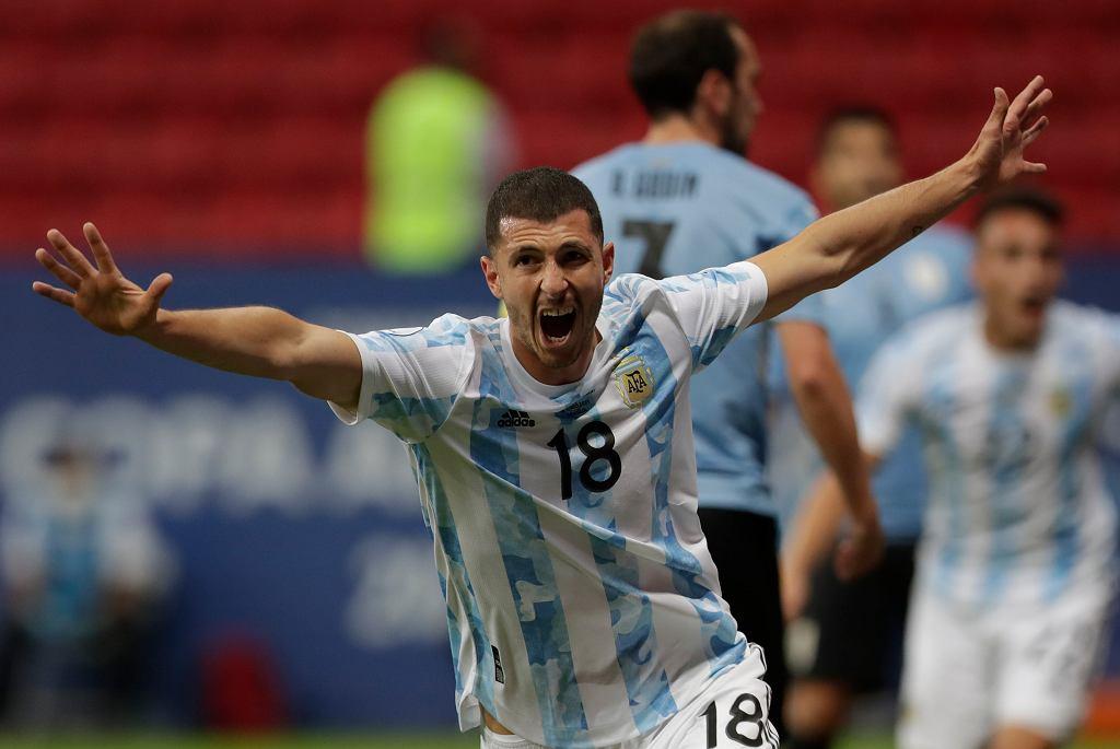 APTOPIX Brazil Argentina Uruguay Copa America Soccer