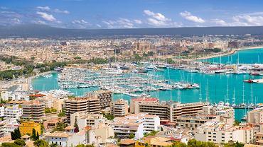 Panorama Palmy, stolicy Majorki