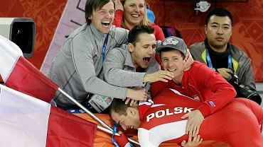 Zbigniew Bródka mistrzem olimpijskim w łyżwiarstwie szybkim