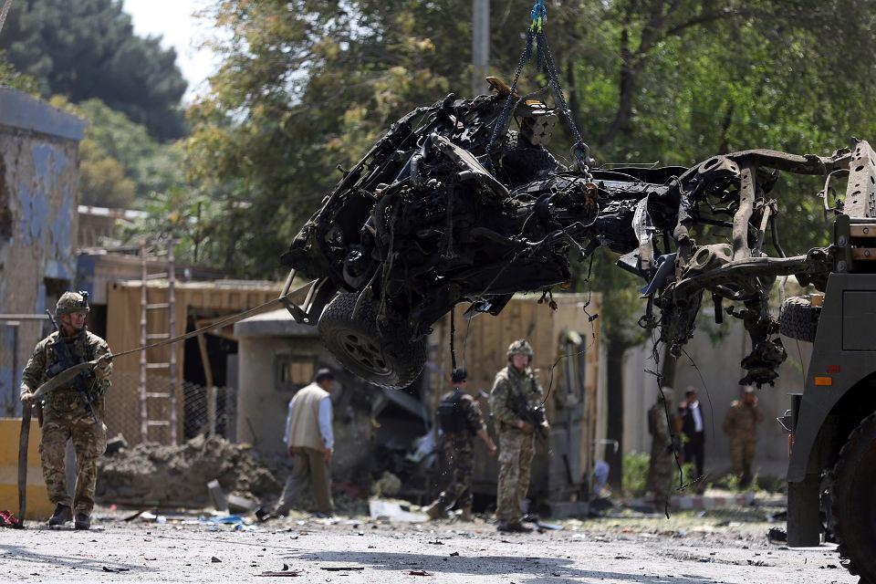 Miejsce czwartkowego zamachu w Kabulu