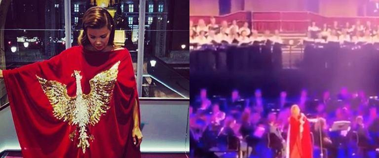 Edyta Górniak zaśpiewała w Londynie. Tłum szalał