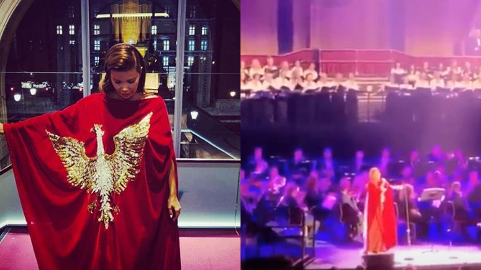 Edyta Górniak zaśpiewała w Londynie. Tłum szalał.