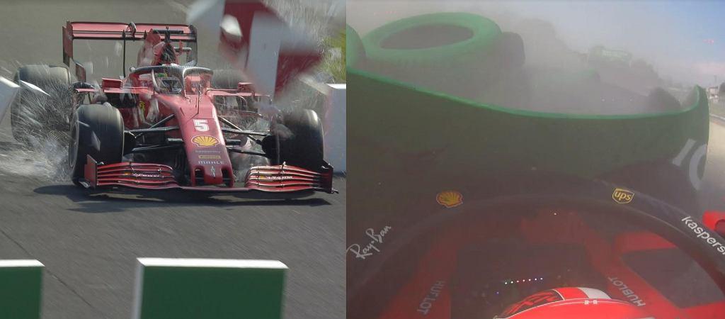 Fatalny wyścig Ferrari na Monzy