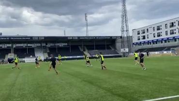 Trening FK Bodo/Glimt przed rewanżem z Legią