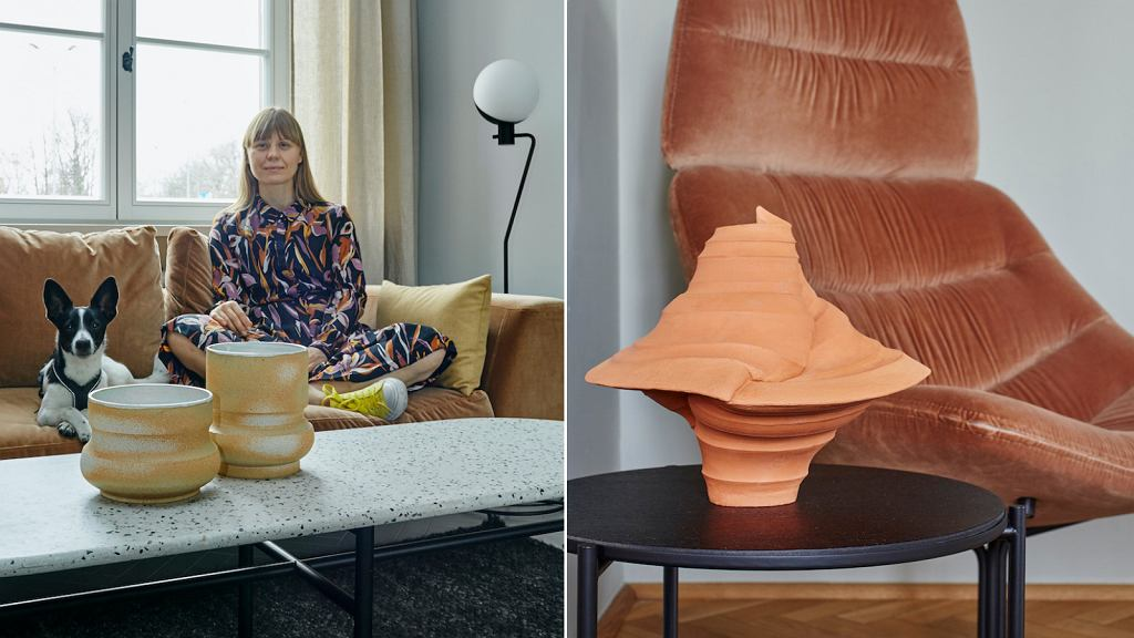 Alicja Patanowska i jej najnowsza ceramika 'Errorica' oraz 'Infinity'.