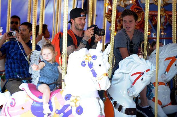 David Beckham, Harper Beckham, Brooklyn Beckham