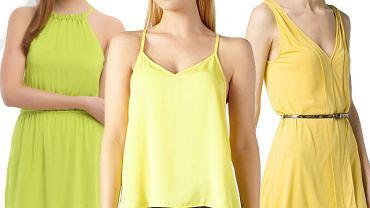 Modny kolor - żółty: 20 ubrań i dodatków na lato