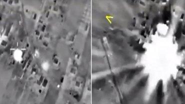 Rosyjskie naloty w Syrii
