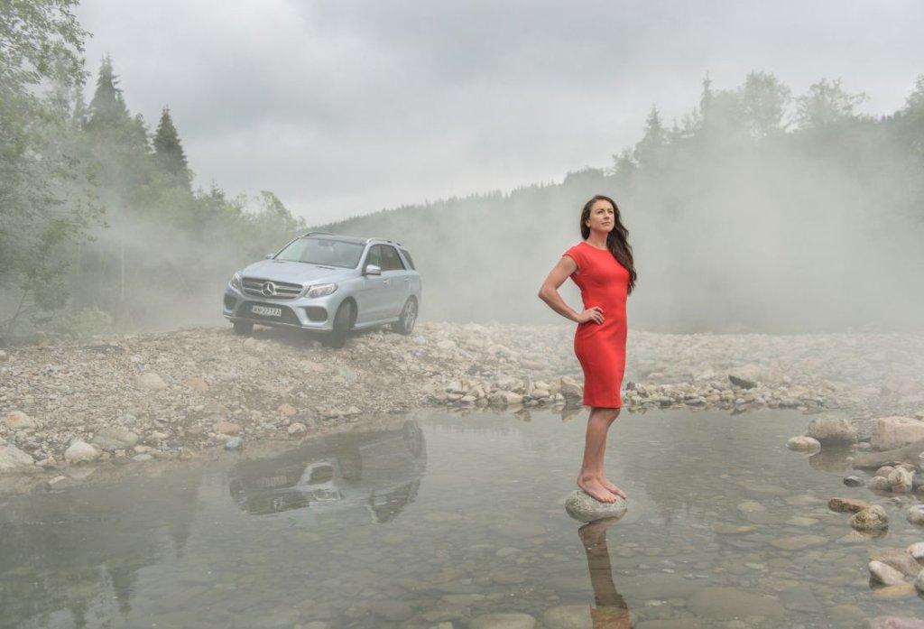 Justyna Kowalczyk i Mercedes GLE 350 d