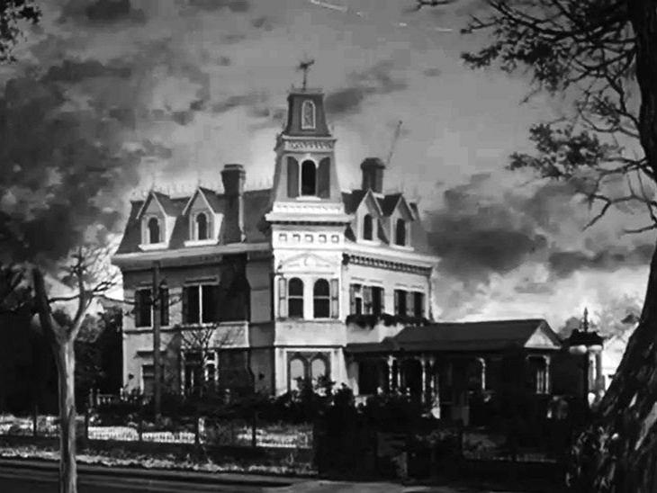 Serialowy dom Rodzinny Addamsów