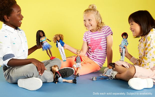 Nowe lalki Mattel dla chłopców i dziewczynek