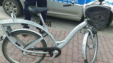 Tak wyglądał rower, jaki znaleziono w Cegłowie