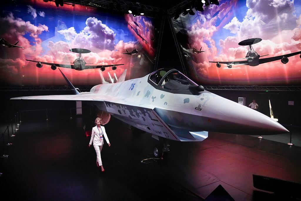 Prototyp nowego myśliwca Rosji
